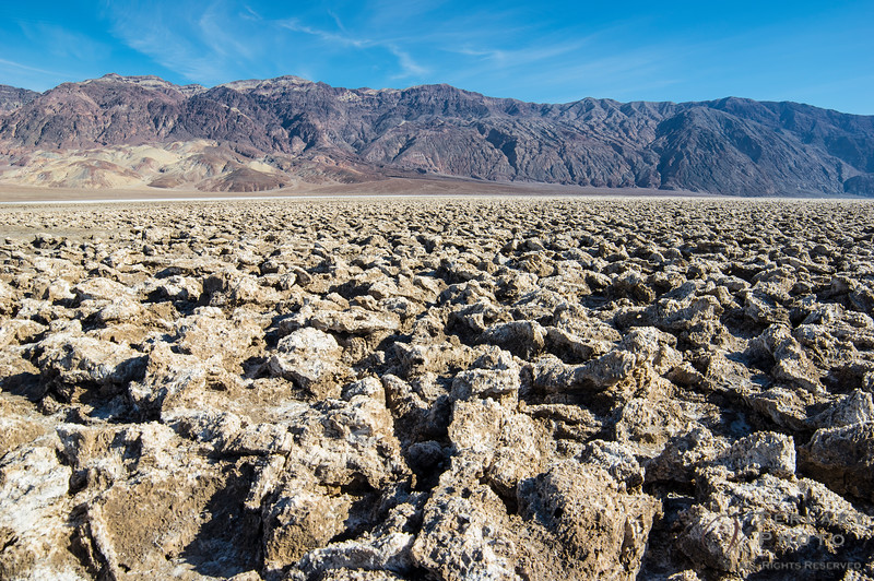 Death Valley - Devil's Golf Course.