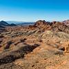 Desert outside the Valley of Fire.