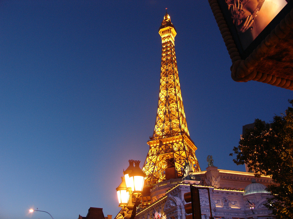 DSC07163 - Las Vegas - Paris - Eiffel Tower