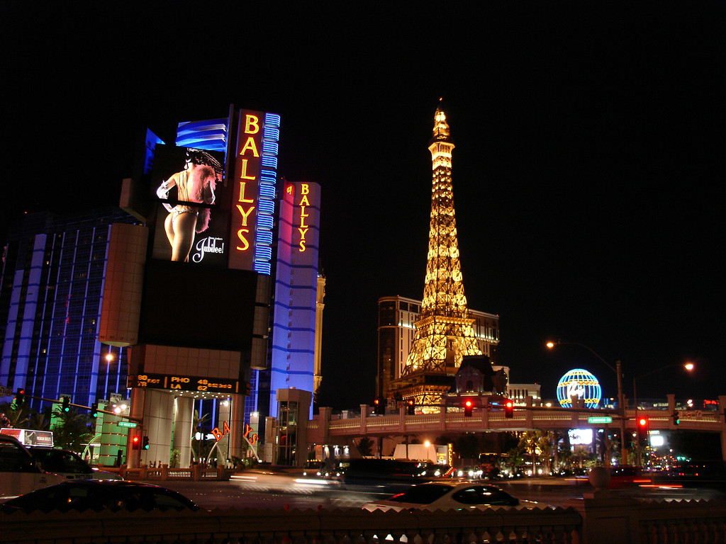 DSC07216 - Las Vegas - Ballys - Paris - The Strip