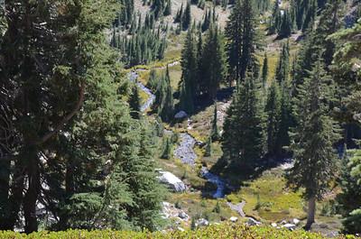 From Bumpass Hell trail near Helen Lake
