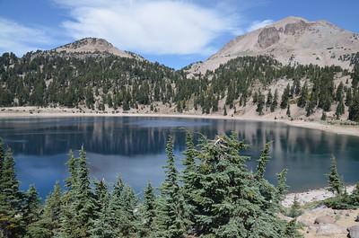 Helen Lake and Lassen Peak