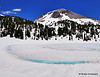 Lassen Peak and Frozen Lake Hellen