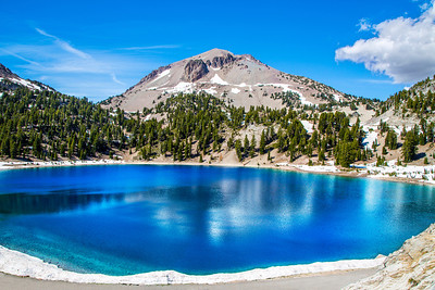 Lake Helen and Mt. Lassen, Lassen Volcanic National Park, June 2013