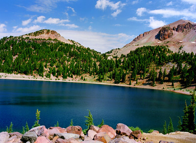 Emerald Lake at Mt. Lassen