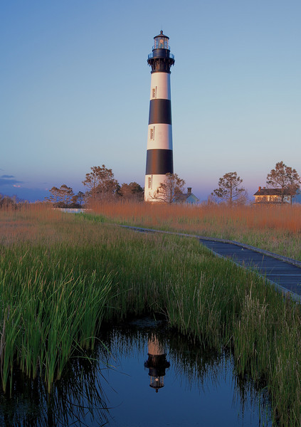 Bodie Light at Sunrise