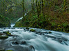 Bridal Veil falls, Columbia River Gorge, Oregon.