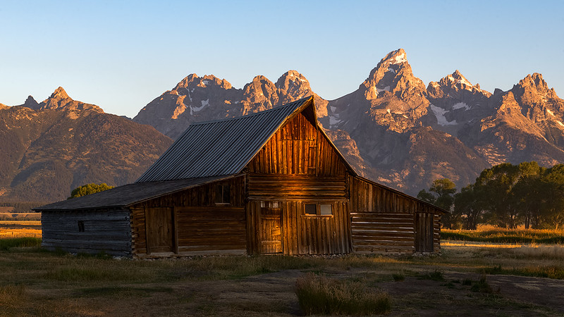 Moulton Barn. Grand Teton National Park, Wyoming