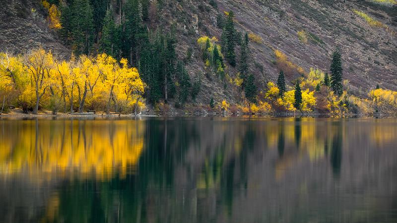 Convict lake fall colors. Eastern Sierra CA