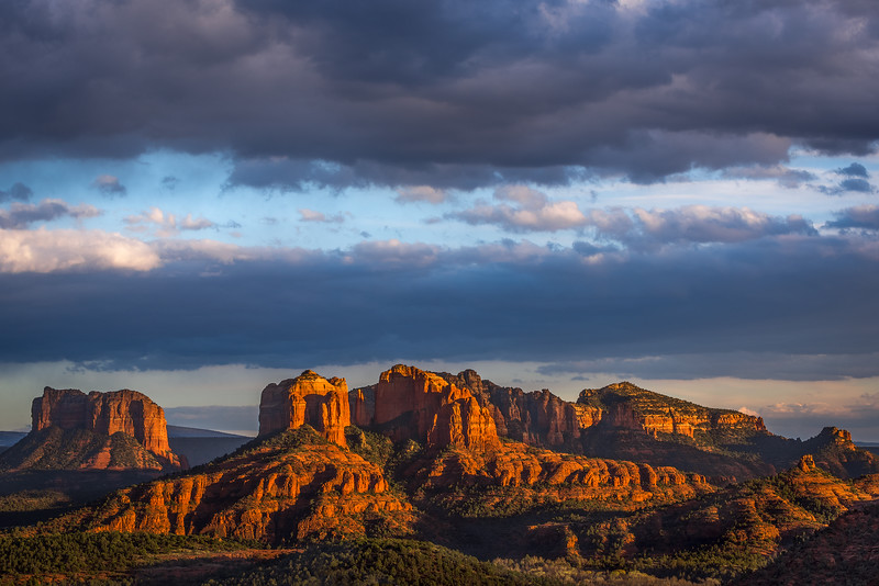 Sedona late afternoon