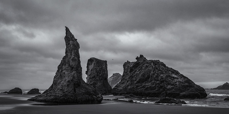 Bandon beach, OR. Witches hat