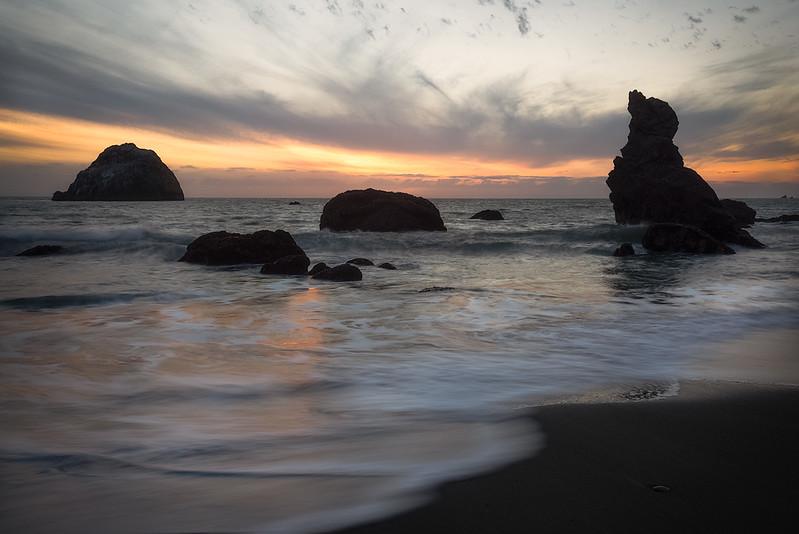 Sonoma coast, N California