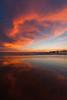 Venice pier reflection