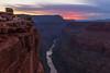 Toroweap overlook, Colorado River. North Rim, Grand Canyon, AZ.