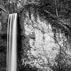12  G Latourell Falls Close BW