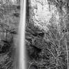 24  G Latourell Falls BW V