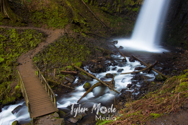 81  G Upper Latourell Falls and Bridge