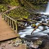 72  G Upper Latourell Falls and Bridge S