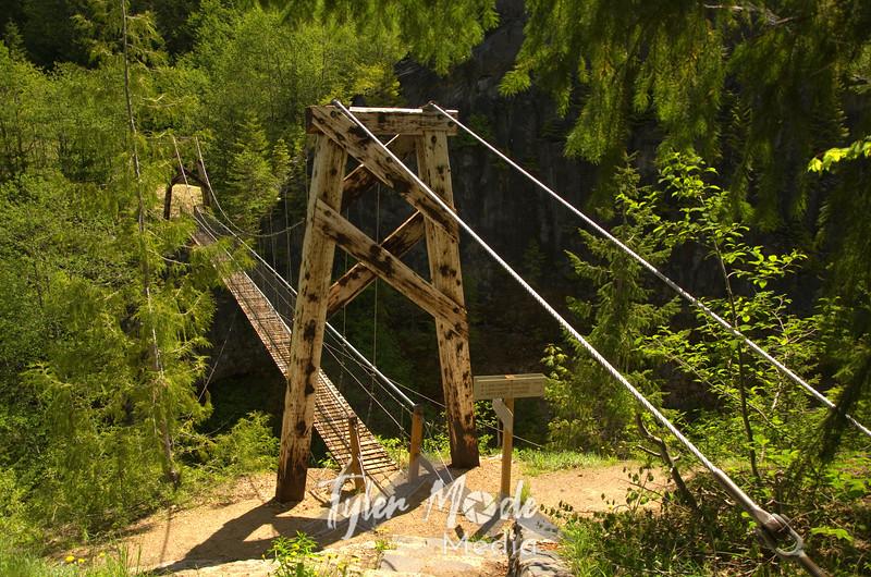 154  G Suspension Bridge Wide