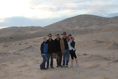 Group Photo at Kelso Dunes