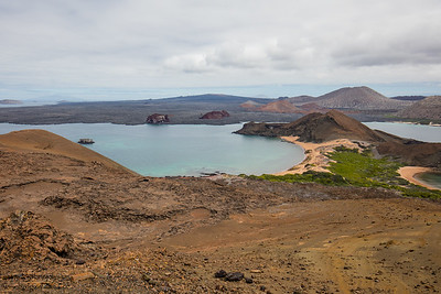 A view from the  Bartolomé summit - Galapagos, Ecuador