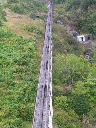 """Laxey Mine and the """"Lady Isabella"""""""