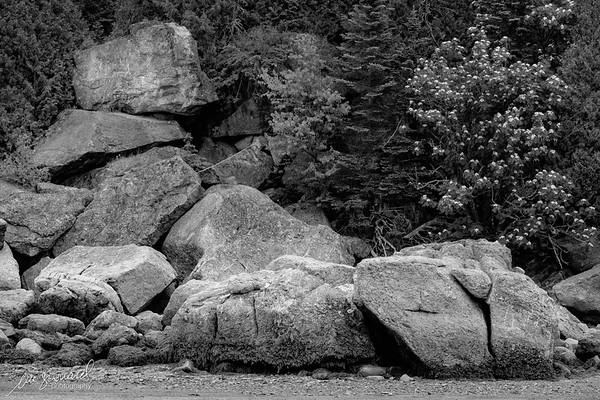 Rocks in Le Bic