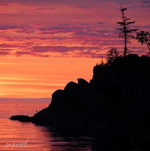 Sunrise at Anse à Voilier
