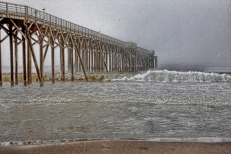 San Simeon Pier, San Simeon, California