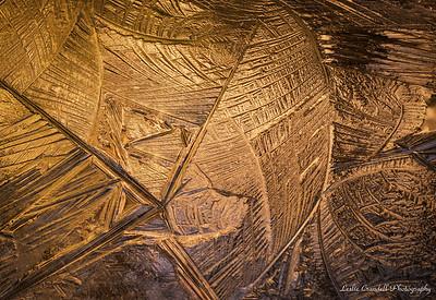 Glowing Ice Patterns