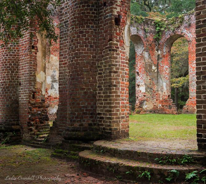 Old Sheldon Ruins, Yemassee, S.C.