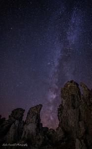 Mono Lake Tufas and Milky Way
