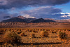 Storm moving into Death Valley National Park