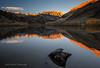 Sunrise at North Lake