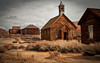 Church at Bodie Ghost Town