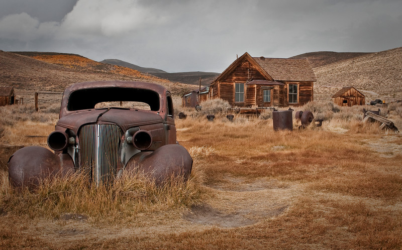Old Car at Bodie Ghost Town