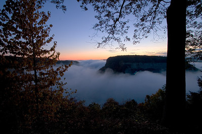 Sunrise at Great Bend Letchworth State Park, NY