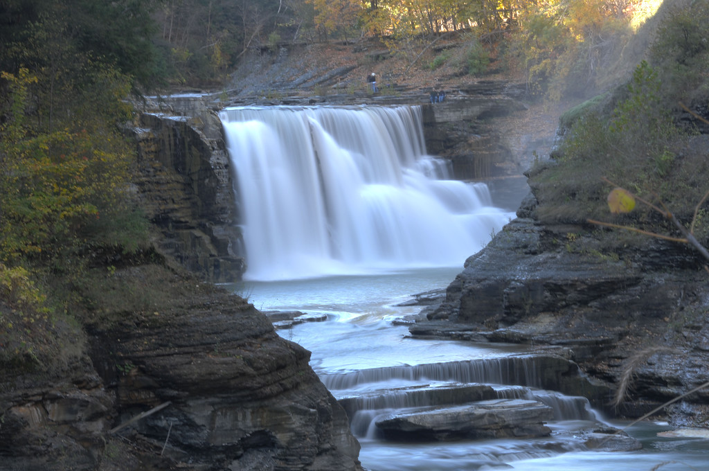 Lower Falls in Letchworth State Park