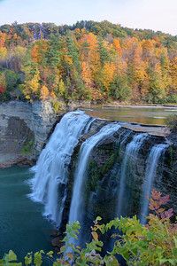 Middle Falls in Letchworth