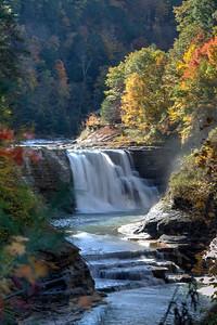 Lower Falls in Letchworth