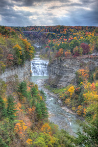 View from Inspiration Point in Letchworth