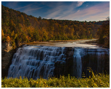 Middle Falls, Letchworth State Park, NY.