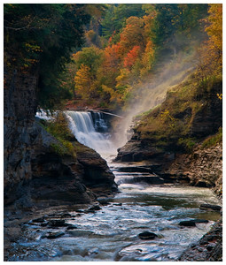 Lower Falls, Letchworth State Park, NY.