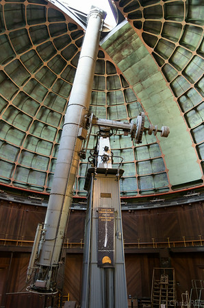 "The 36"" Great Refractor was completed in 1886!"
