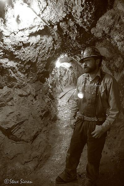 Miner Cripple Creek Colorado