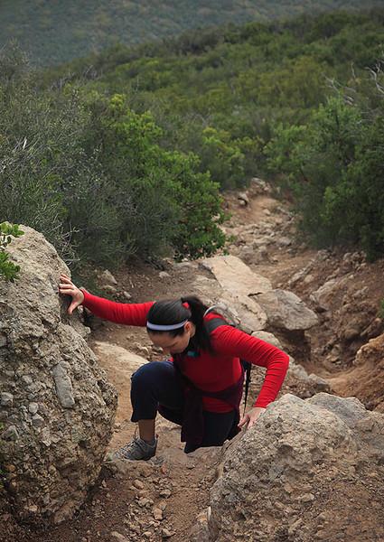 Boney Mountain Trail Hiker