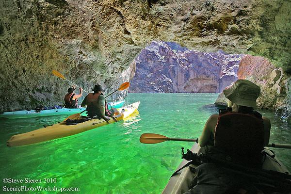 Emerald Waters - Colorado River, Mojave Desert<br /> Arizona and Nevada