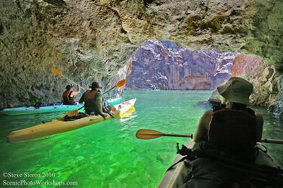 Emerald Waters - Colorado River, Mojave Desert Arizona and Nevada