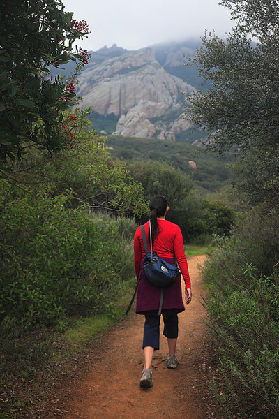 Hiking the Boney Mountain Trail