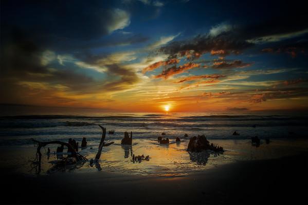 Sunset at Cape San Blas